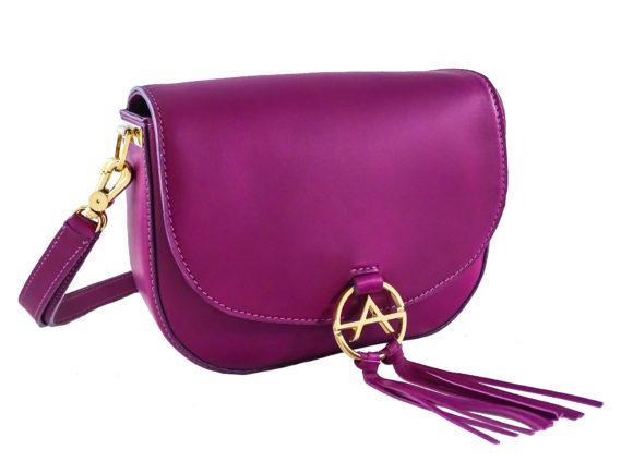 Sissi Saddle Bag (leather shoulder strap)